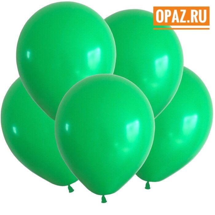 Шар зеленый