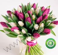 № Т-1817 Букет состоит из 37 тюльпанов Цена: 1850 руб.