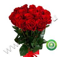 № Р-803 Букет состоит из: - роза 15 шт., длина 60 см.