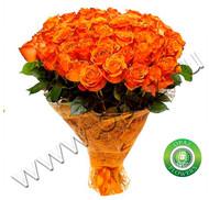№ Р-821 Букет состоит из: - роза 55 шт., длина 50 см.