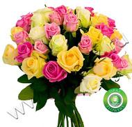 № Р-815 Букет состоит из: - роза 35 шт., длина 60 см.