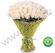 № Р-824 Букет состоит из: - роза 75 шт., длина 50 см. в упаковке