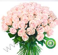 № Р-817 Букет состоит из: - роза 51 шт., длина 60 см.