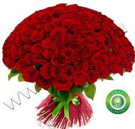 № Р-830 Букет состоит из: - роза 125 шт., длина 70 см.