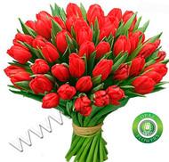№ Т-1818 Букет состоит из 37 тюльпанов Цена: 1850 руб.