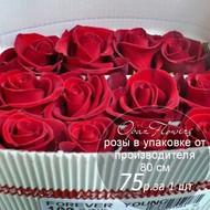 Розы в пачке от производителя   высота 80 см  ар.RO-025