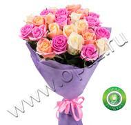 № Р-809 Букет состоит из: - роза 25 шт., длина 50 см.