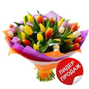 Тюльпаны 25шт №ТУ35