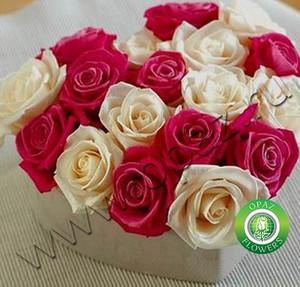 № A-705 Букет роз в форме сердца