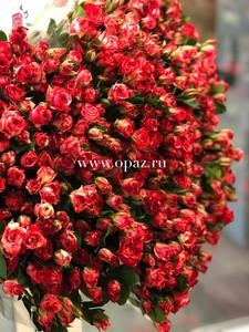 Кустовая роза 70 см.