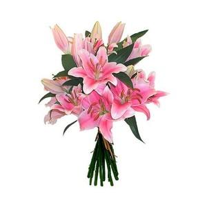 №Л-127 Нежно-розовая лилия. Цена за шт.