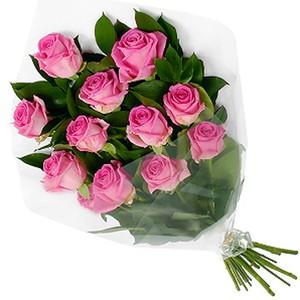 Букет№ РС-12 Роза Эквадор Premium 11шт 50 см в оформленинии