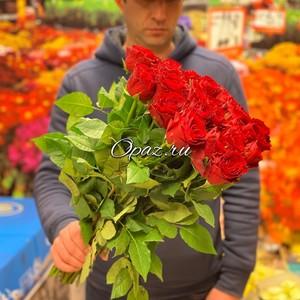 25 роз Голландия Premium 50см №РС-0102