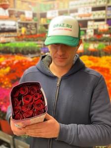 "Цена 25шт Роза Эквадор Premium ""Экспловер"""