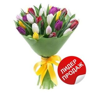 Тюльпаны 25шт №ТУ36