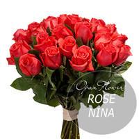 """Букет из 25 роз """"Нина"""" 70 см"""