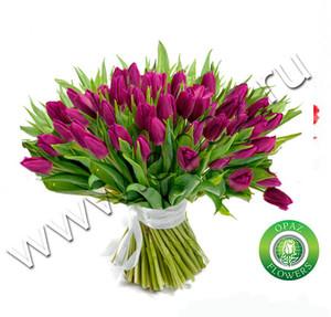 № Т-1804 55 тюльпанов Цена: 2750 руб.