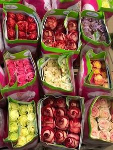 Роза Эквадор микс 80 см. заказ от 25 шт.