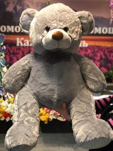 Мишка  серый 90 см