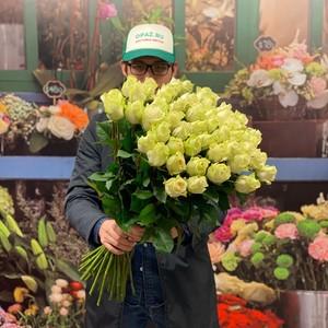51 роза 70см Голландия Premium №РС-104