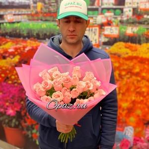 25 роз Premium 40см оформлении №РС-097