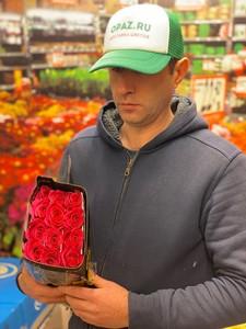 "Цена 25шт Роза Эквадор Premium ""Гоча"""