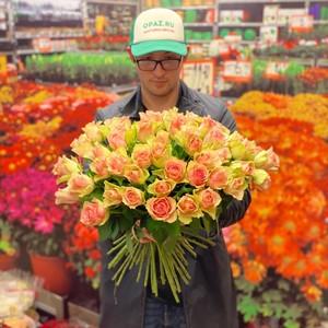 51 роза 50см Голландия Premium №РС-110