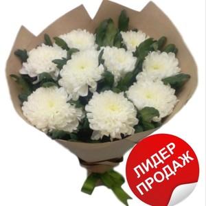 "Букет 9 хризантем ""Антонов""№ Х-026"
