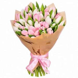 Тюльпаны 51 шт. № ТУ013