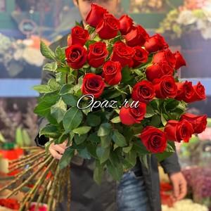 25 роз Голландия Premium 70см №РС-124