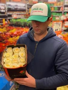 """Цена за 25шт Роза Эквадор Premium """"Канделайн"""""""