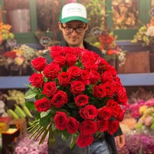 51 роза 50см Голландия Premium №РС-103