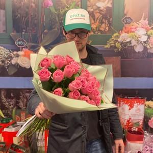 51 роза 40см Голландия Premium №РС-121