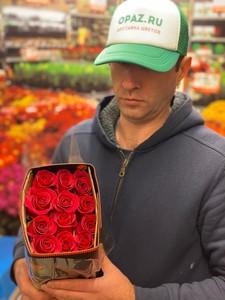 """Цена 25шт Роза Эквадор Premium """"Пинк Флойд"""""""