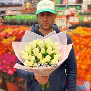 25 роз Premium 40см оформлении №РС-096