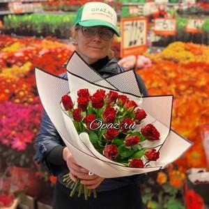 25 роз Premium 40см в оформлении №РС-127
