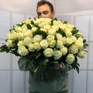 Букет 101роза 50см  № РО-64