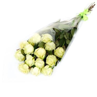 Роза Эквадор Premium 15шт 60см в оформленинии№ РО-10
