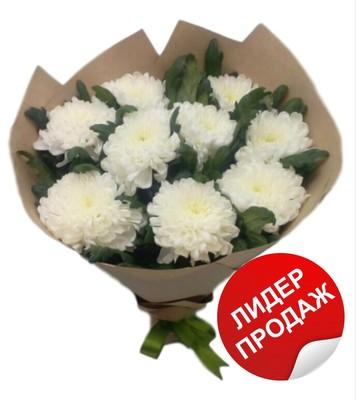 Букет 9 хризантем № Х-026